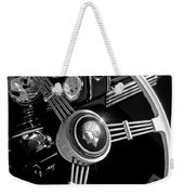 1939 Ford Standard Woody Steering Wheel 2 Weekender Tote Bag