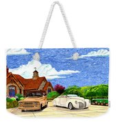 1939 Lincoln Zephyr  Family Home Weekender Tote Bag