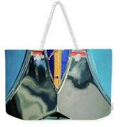 1940 Dodge Business Coupe Emblem Weekender Tote Bag by Jill Reger