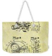 1940 Film Camera Patent Weekender Tote Bag