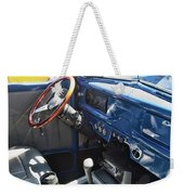 1940 Ford Truck Interior Weekender Tote Bag