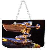 1940 Packard Hood Ornament Weekender Tote Bag
