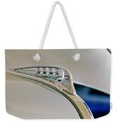 1940 Plymouth Hood Ornament 3 Weekender Tote Bag