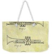 1940 Trumpet Patent Weekender Tote Bag