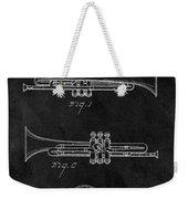 1940 Trumpet Patent Illustration Weekender Tote Bag