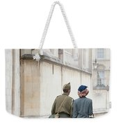 1940s Wartime Couple Weekender Tote Bag