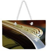 1941 Buick Eight Hood Ornament Weekender Tote Bag by Jill Reger