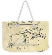 1941 Bulldozer Patent Weekender Tote Bag