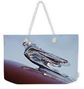 1941 Cadillac Fleetwood 60 Hood Ornament Weekender Tote Bag