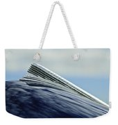 1941 Chevrolet Hood Ornament 2 Weekender Tote Bag