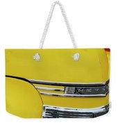 1941 Chevrolet Sedan Hood Ornament 2 Weekender Tote Bag by Jill Reger