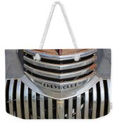 1941 Chevy - Chevrolet Pickup Grille Weekender Tote Bag
