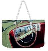 1941 Chrysler Newport Dual Cowl Phaeton Steering Wheel Weekender Tote Bag