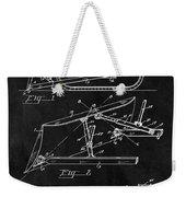 1941 Construction Bulldozer Weekender Tote Bag