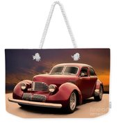 1941 Hollywood Graham Sedan I Weekender Tote Bag
