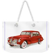1941 Mk I Lincoln Continental Weekender Tote Bag