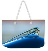 1941 Plymouth Hood Ornament Weekender Tote Bag