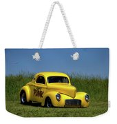 1941 Willys Coupe Dragster Weekender Tote Bag