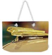 1942 Chevrolet Fleetline Hood Ornament Weekender Tote Bag