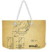 1943 Barber Apron Patent Weekender Tote Bag