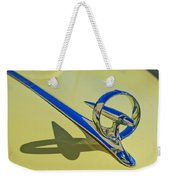 1946 Buick Convertible Hood Ornament 2 Weekender Tote Bag