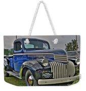 1946 Chevy Weekender Tote Bag