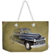 1946 Dodge D24c Sedan Weekender Tote Bag