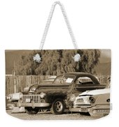 1946 Dodge In Sepia Weekender Tote Bag