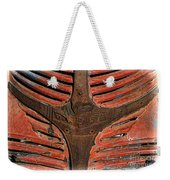 1946 Dodge Pickup Truck Rusty Grill Weekender Tote Bag