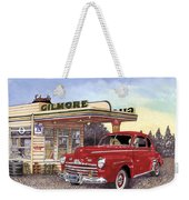 1946 Ford Deluxe Coupe Weekender Tote Bag