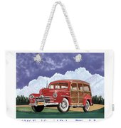 1946 Ford Woody Weekender Tote Bag