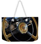 1947 Buick Eight Super Steering Wheel Weekender Tote Bag