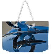1947 Buick Roadmaster Hood Ornament Weekender Tote Bag
