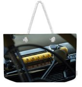 1947 Buick Super Radio Weekender Tote Bag