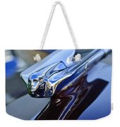 1947 Cadillac 62 Convertible Hood Ornament Weekender Tote Bag