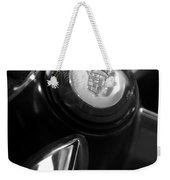 1947 Cadillac Steering Wheel Weekender Tote Bag