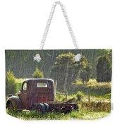1947 Dodge Pickup Rain And Sun Weekender Tote Bag