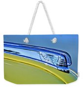 1947 Ford Super Deluxe Hood Ornament 2 Weekender Tote Bag