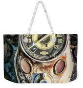 1947 Knucklehead Speedometer Weekender Tote Bag