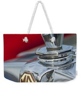 1947 Mg Tc Non-standard Hood Ornament Weekender Tote Bag