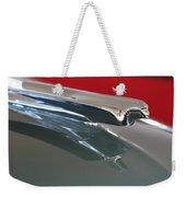 1948 Cadillac Series 62 Hood Ornament Weekender Tote Bag