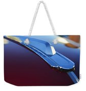 1948 Chevrolet Pickup Hood Ornament Weekender Tote Bag