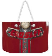 1948 Crosley Convertible Emblem Weekender Tote Bag