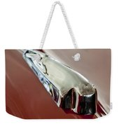 1948 Crosley Convertible Hood Ornament Weekender Tote Bag