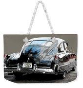 1948 Fastback Cadillac Weekender Tote Bag