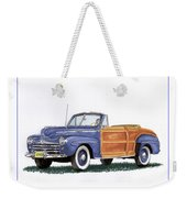 1948 Ford Sportsman Convertible Weekender Tote Bag