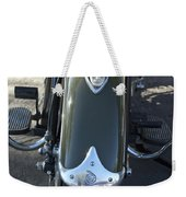 1948 Indian Chief Motorcycle Hood Ornament Weekender Tote Bag