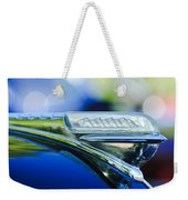 1948 Plymouth Hood Ornament Weekender Tote Bag