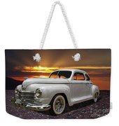 1948 Plymouth Two Door Coupe Weekender Tote Bag