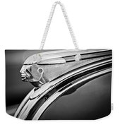 1948 Pontiac Chief Hood Ornament 2 Weekender Tote Bag by Jill Reger